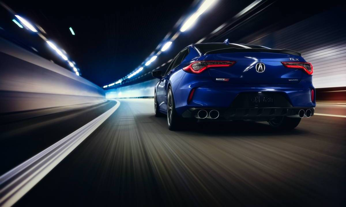 2021 Acura TLX and TLX Type S makes racing debut at Pikes ...